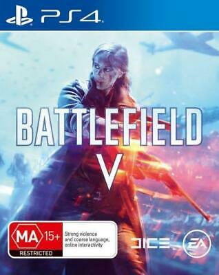 Brand New Battlefield V 5 For Ps4 Sony Playstation 4 Original Aus Version
