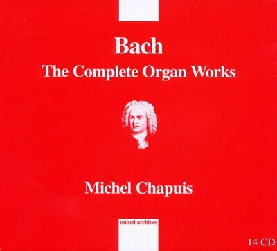 Michel Chapuis - Bach The Complete Organ Works (14 Cd) Nuovo Sigillato