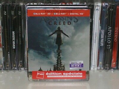 """Steelbook""""Assassins Creed""""edition FNAC neuf sous blister"""