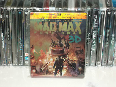 "Steelbook""Mad Max Fury Road""comme neuf Edition Française"