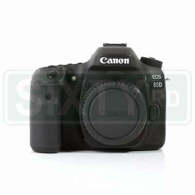 UK Canon EOS 80D Digital SLR Camera Body (Kit Box)