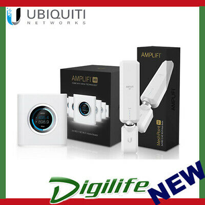 Ubiquiti Networks AmpliFi Router and AmpliFi HD Mesh Point Bundle Pack