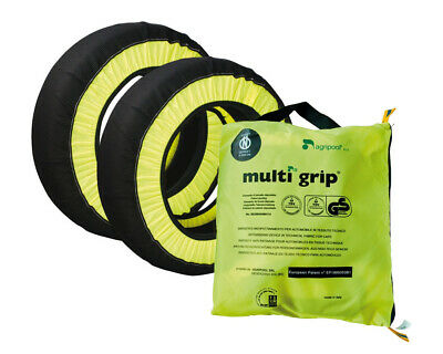 Agripool MGRIP71 Multigrip Snow Socks Size Group 71 Fits 13'' to 15'' Tyres Rims