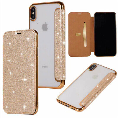 New Luxury Slim Leather TPU Wallet Flip Cover skin Case For iPhone X XR XS MAX