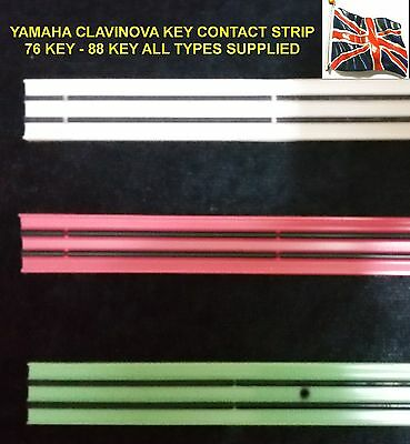 Yamaha Clavinova CLP-121S CLPCLP-152S CVP-20 key contact rubber 76 key new