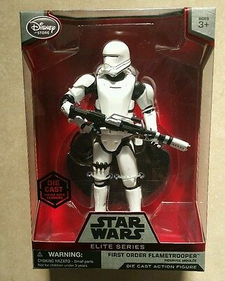 Star Wars Disney Diecast The Force Awakens Flametrooper Elite Figure First Order