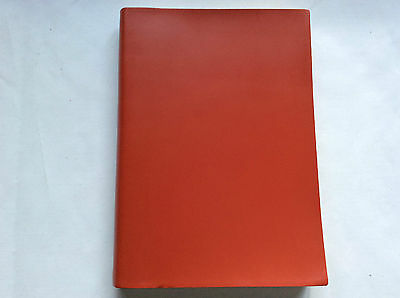Pinetti Journal NOT refillable A6  12x16,5 smooth red