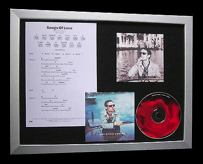 DIVINE COMEDY Songs Of Love MUSIC CD QUALITY FRAMED DISPLAY+EXPRESS GLOBAL SHIP