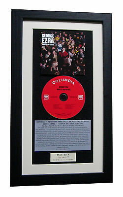 GEORGE EZRA Wanted On Voyage CLASSIC CD Album QUALITY FRAMED+FAST GLOBAL SHIP