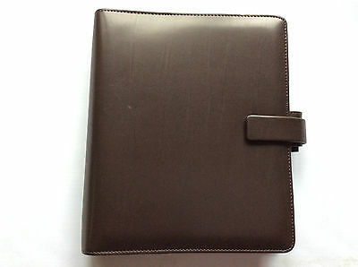 Filofax A5 Metropol Brown