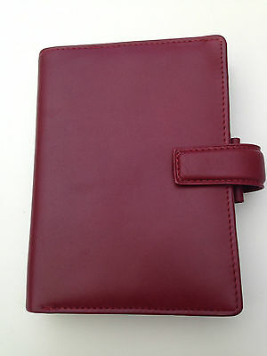 Filofax Pocket Bromley red