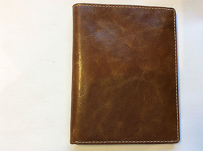 Filofax Malden portrait wallet french Ochre