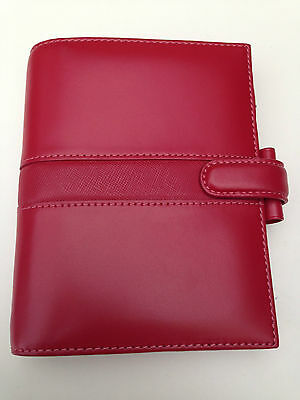 Filofax Pocket Piazza red
