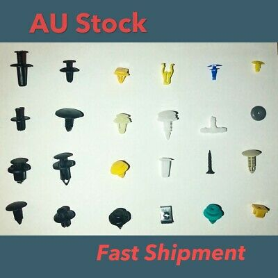 520PCS Car Trim Body Clips Kit Rivet Retainer Door Panel Bumper Plastic Fastener