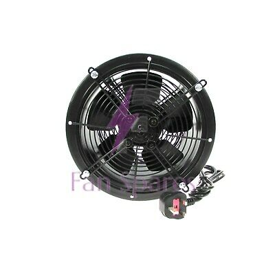 SUPERFAN 500mm Cased Axial Dual Guard 2.5M Power Lead Multi Purpose Extractor