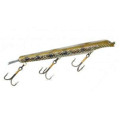 Suick Jerkbait - Weighted Muskie Thriller 23cm Holographic Perch