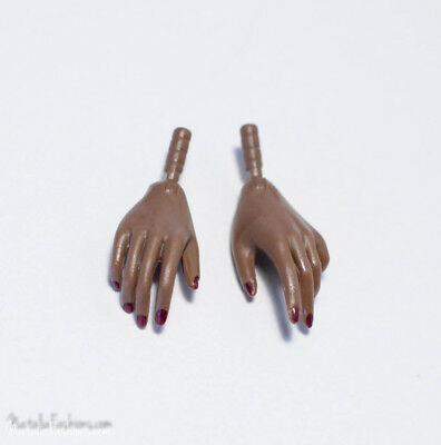Last New Hands Only Faces Of Adele Makeda A-Tone Skintone Fashion Royalty Doll