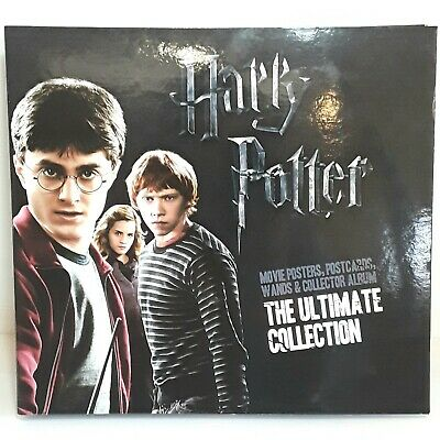 Harry Potter Ultimate Collection Folder Wands Postcards Posters