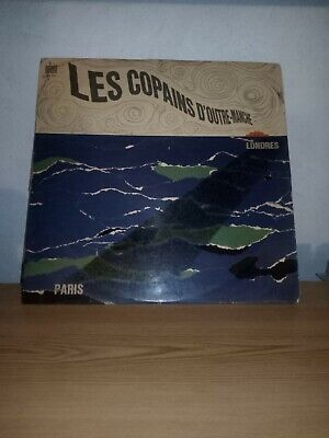 """Beatles Odeon osx 223 """"Les copains d'Outre Manche French press green label"""