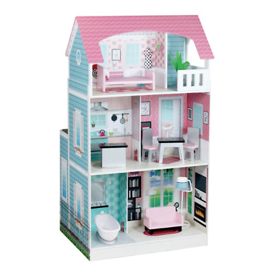 Teamson Kids Pink 2 in 1 Kitchen / Dollhouse