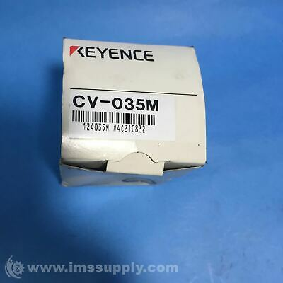 Keyence Corp Cv-035M Digital Double-Speed Black-And-White Camera Fnfp