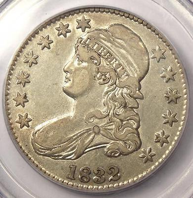 1832 Capped Bust Half Dollar 50C - PCGS XF45 (EF45) PQ - Rare Certified Coin