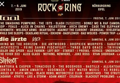 Rock am ring 2019 ticket