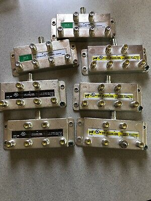 PDI 6-WAY MoCA 2.0 SPLITTER PDI-6WMVS-2.0 BALANCED 5-1675MHz Lot Of 7