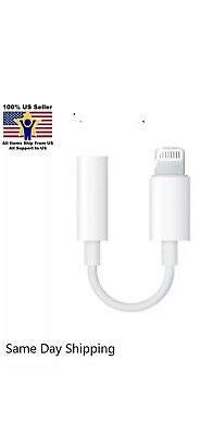 Apple Lightning to 3.5mm Headphone Jack Adapter for iPhone 7 8 PLUS X Xs Max
