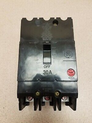 WK-42 General Electric 45A 3P Circuit Breaker  Cat# TEY345  ..