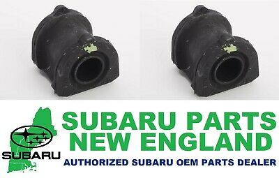 Genuine OEM Subaru Tribeca Front Stabilizer Sway Bar Bushing Set 20414XA01A x2