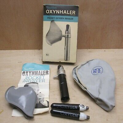 Sparklets BOC Pocket Oxygen Inhaler Oxynhaler Rare Boxed w Manual etc Medical