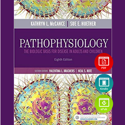 Pathophysiology The Biologic Basis for Disease in Adults and Children 8th Ed PDF