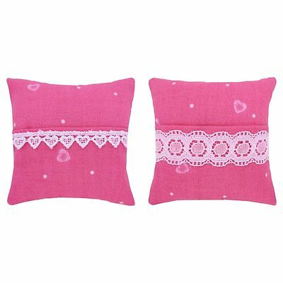 Tooth Fairy Pillow, pink, heart & dot print fabric, choice of trim for girls