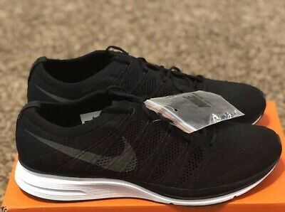 buy online 3dcfe 13217 New Nike Flyknit Trainer Size 11 Mens Crossfit Black White Shoes AH8396 007