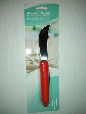 Rocker Knife For Elderly /Disabled In Red