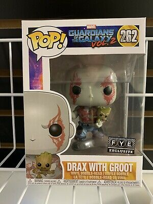 Funko Pop! Guardians of the Galaxy Vol. 2 Drax with Baby Groot FYE Exclusive