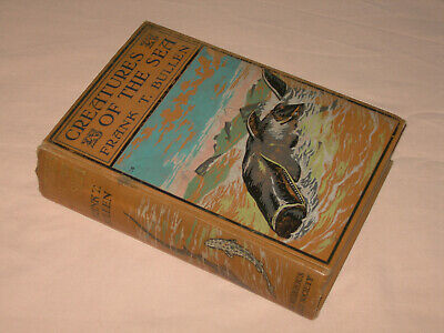 Creatures of the Sea - Birds Beasts Fishes Frank T Bullen 1911 HB