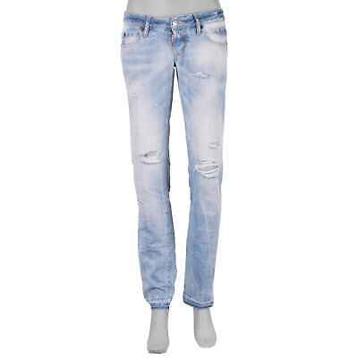 DSQUARED2 DSQUARED DENIM Slim Jean Destroyed Jeans Hose