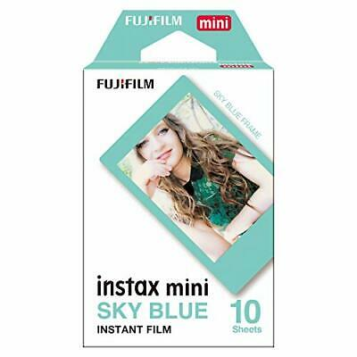 Fujifilm Instax Mini Sky Blue Film - 10 Exposures