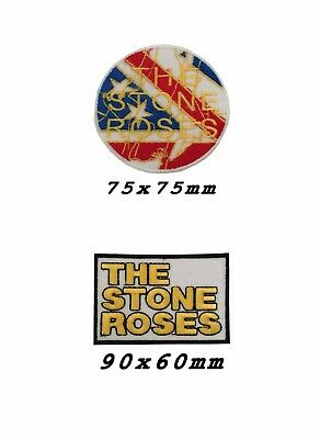 The Stone Roses Punk Rock Heavy Metal Music Iron On Patch Sew On Badge