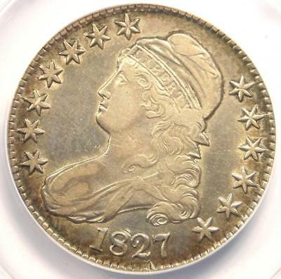 1827 Capped Bust Half Dollar 50C O-146 - ANACS XF40 Details (EF40) - Rare Coin!