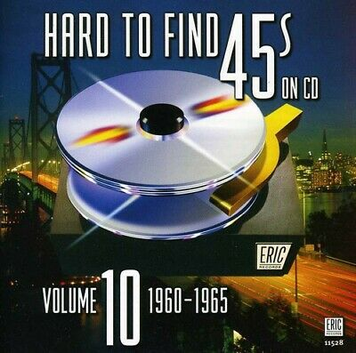 Hard To Find 45's On Cd - Vol. 10-1960-65 (CD Used Very Good)