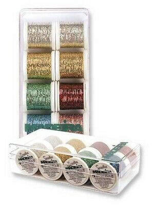 Madeira 8013 | Assorted Jewel Shades Machine Embroidery Thread | 200m x 8