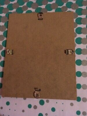 """MDF Backing Board With Clips For Frames 10x8"""""""