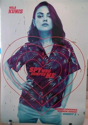 The Spy Who Dumped Me Mila Kunis Authentic 27 x 40 Preview D/S Movie Poster