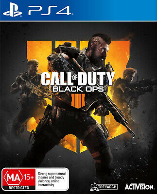 Call of Duty Black Ops 4 PlayStation 4 PS4 NEW SEALED FAST FREE SHIPPING