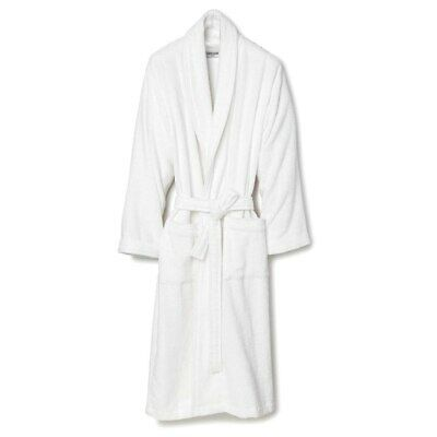 NEW Lusso Cotton Terry Bathrobe Medium
