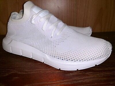 be0b0d603 Adidas Swift Run Primeknit Sz 9 Running White Grey Pk Running Shoes Cq2892