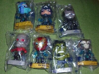 McDONALD's 2019 MARVEL AVENGERS END GAME Happy Meal Toy YOU PICK  Mystery 23 24